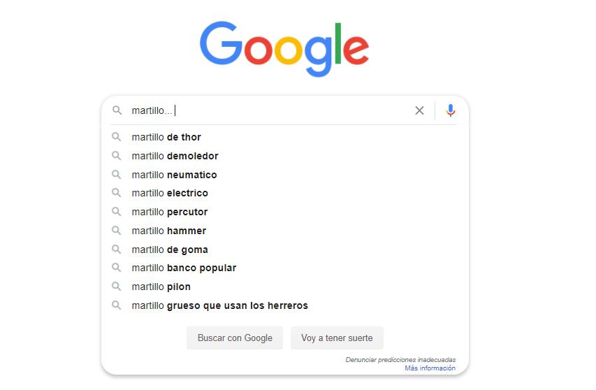 """Google y su """"Intención de búsqueda"""" del usuario 1"""